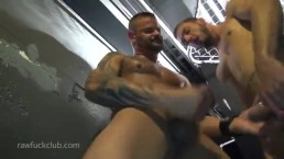 Derrick Hanson and Dylan Hyde Raw