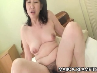 Sumie Nagai – Cock Addicted JAV Mature Riding A Young Guy