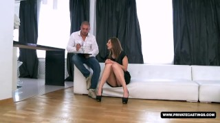 Newbie Alice Has an anal Audition and Casting...  ass fuck doggy style privatecastings russian amateur blowjob cumshot small tits casting big dick brunette pierced shaved anal facial perfect ass