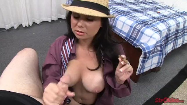 Sex holly west Holly west tugs while smoking
