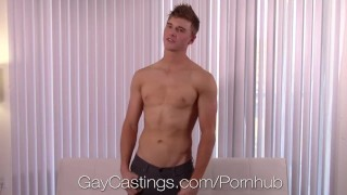 GayCastings - Alex Tanner Tries Out For Porn And Gets Fucked Gay thugs