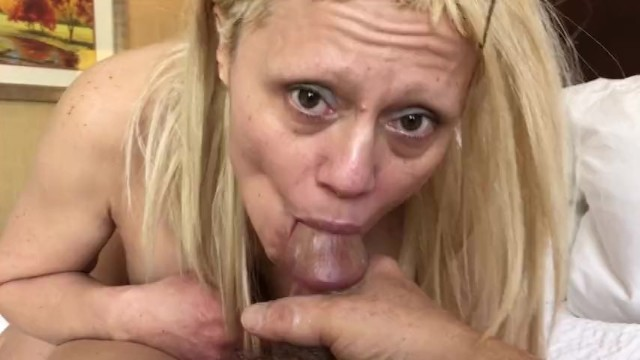 Blow Job Deep throat Part 2 Sexy Blonde Barbie Blaze 30