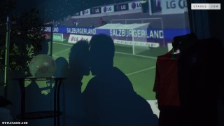 Football  focus scene bareback uncut
