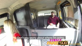 FemaleFakeTaxi Welsh lad gets a sweet surprise porno
