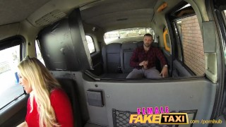 FemaleFakeTaxi Welsh lad gets a sweet surprise Blowjob young