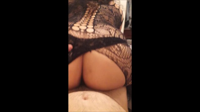 Latina Big Booty Riding Dildo