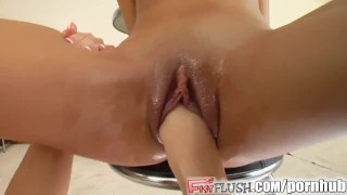 Fist Flush Hot babes and full fisting lead to insane cum Girl fist