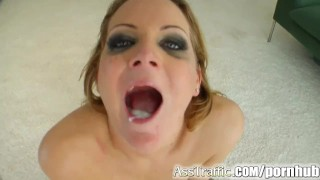 Fucked anal ass traffic ass newcomer by cocks nice cumshot