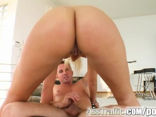 Ass Traffic Defrancesca is a super hot babe with a hungry ass