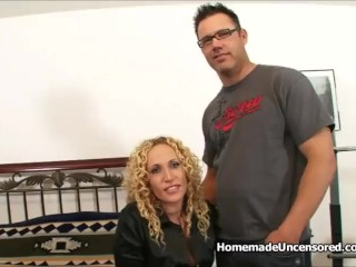Nikita mirzani - Curly blonde wife fucked hard