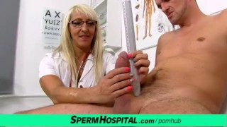 Doctor patient sex at hospital feat. milf Marketa
