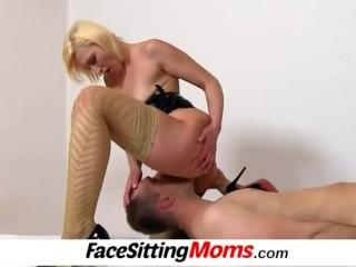 Milf with boy facesitting feat. czech mature Dita