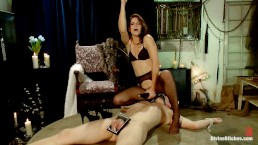 Danny Wylde Submits After Years To Bobbi Starrs Skillful Prostate Milking