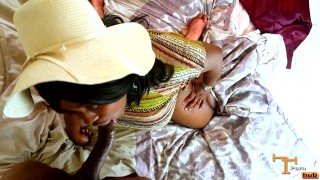 A cute ebony big plus getting pounded to with dick it ass fat sucking a go step massage