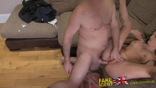 With rubber fakeagentuk casting anal clad cock pov cumshot