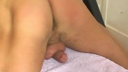 A nice innocent gym trainer serviced his big cock by a guy in spite of him!