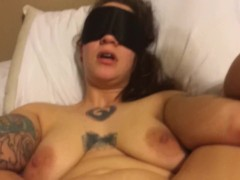 Dom gives his good little Sub bitch the orgasm of her life.