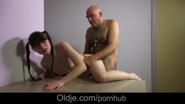 Classy older cunt Sleazy old perv solace cutie in pain with licking her hairy cunt
