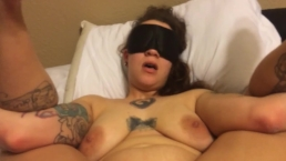 Dom ties his bratty Sub up and gives her what she deserves