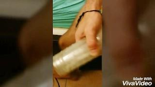 Breeding My Feshlight  fuck breeding hairy fleshlight cum gay