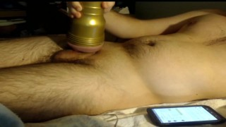 Using my new Fleshlight to Fuck My Big Cock | Amazing Pussy