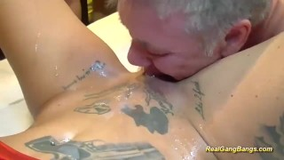 russian blonde masturbating