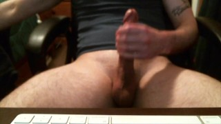 Jerk Off and Cum March 2016  big cock straight solo cum