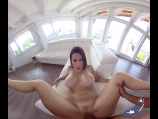 BadoinkVR 180 Degrees Of Double D: Aletta Ocean