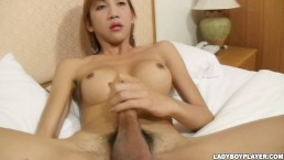 Small tited asian shemale ladyboy fucked by Rafe