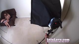 Lelu Love-Behind The Scenes Pregnancy Photoshoot