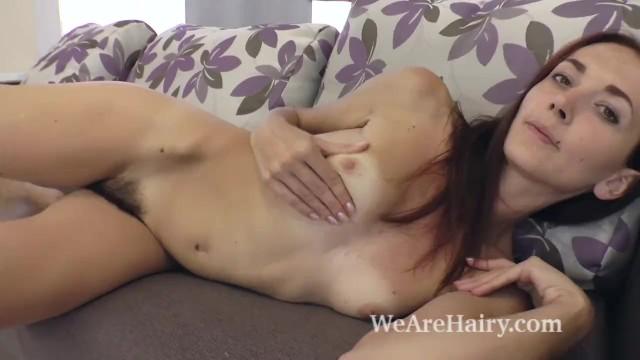 Scarlett joehansen naked Scarlett nika strips naked and shows body on couch