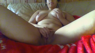 Clit play with nipple and squirt clit ebony
