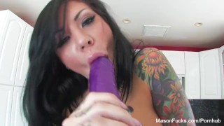 She sexy and pussy toys fingers squirts mason her 'til babe toys