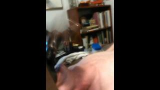 Getting my nutz licked while masturbating  hung twink hunk endowed thug bbc masturbation licking white black big dick jock
