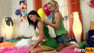 Scene party  sex on lesbians