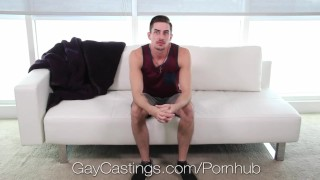 Goes hardcore jack gaycastings audition hunters porn blowjob bj