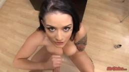 STROKIES Katrina Jade Handjob