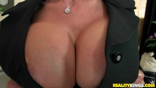 Reality Kings - Milf shows off her huge tits