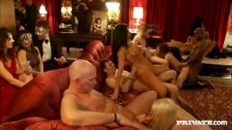 Hardcore Voyeur Sex Party Heats Up