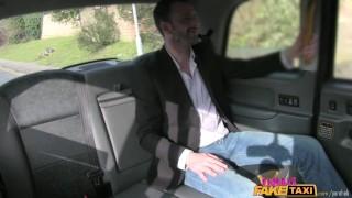 Screen Capture of Video Titled: FemaleFakeTaxi Belgium porn stud fucks sexy cabbie