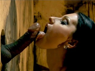 Nikky and Cindy Are Decked out in Super Sexy Latex and Sucking Cocks