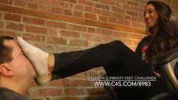 Celestia's Sweaty Feet Challenge - www.clips4sale.com/8983/15362575