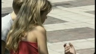 Couple tape picked german sex first for up outdoor german