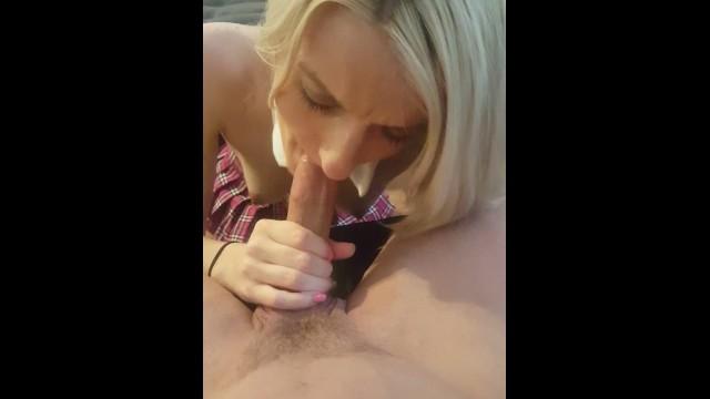 Sexy Blonde School 12