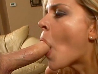 POV Lisa Neils deep throats your cock and slobbers all over it til you cum