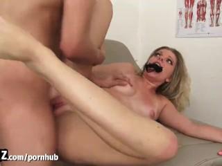 WANKZ – Hot College Girl Fucked Hard By Fake Doctor!
