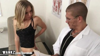 Girl hot college fucked fake doctor by hard wankz face fuck
