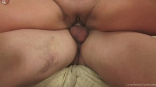 Cock thirsty milf in a wild sex tape