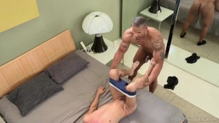 DylanLucas Horny Hunk Pounds College Boy