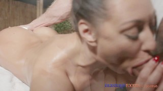 Massage Rooms Sexy Russian Milf has multiple orgasms from expert masseur Ass babe